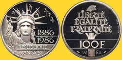 France 1986 100F Pt.JPG (83513 bytes)