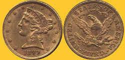 US 1899 $5.JPG (45935 bytes)